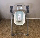 Graco slim spaces Baby swing in Yucca Valley, California