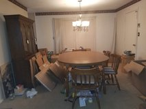 Dinette set with 6 chairs in Fort Campbell, Kentucky
