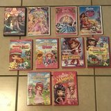 Lot of Girl DVD Movies Barbie & Strawberry Shortcake in Travis AFB, California