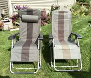 Patio Reclining Lounge Chairs in Naperville, Illinois