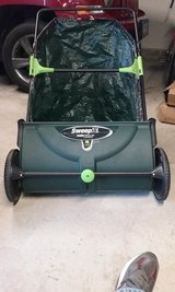 Earthwise™ Sweepit™ Lawn Sweeper  - used one time in Joliet, Illinois