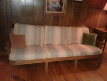 Vintage A. Brandt Ranch Oak couch in Bolingbrook, Illinois