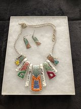 Necklace and earrings in Orland Park, Illinois