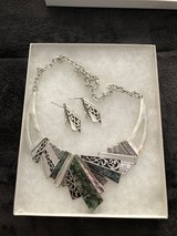 Earrings and necklace in Orland Park, Illinois