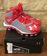 Boy's Under Armour Baseball Cleats - New in Box, Size 4Y in The Woodlands, Texas