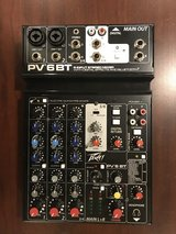Peavey PV6BT Bluetooth Mixer in Aurora, Illinois