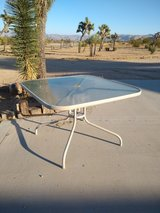 Square Patio Table in Yucca Valley, California