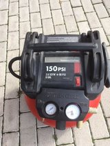 Air Compressor and Air Accessory Set, 110V in Ramstein, Germany