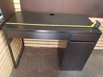 Brown Student Desk - Perfect for Small Spaces! in Chicago, Illinois