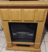Electric wooden fireplace in Bolingbrook, Illinois