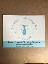 Neat Freaks Cleaning Service in Clarksville, Tennessee