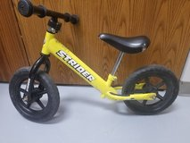FREE! Used Strider Balance Bike Bicycle 2-4 years old Smallest size in Naperville, Illinois