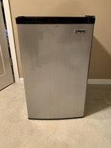 Magic Chef 4.4 CU FT Refrigerator with Freezer Stainless Steel in Naperville, Illinois