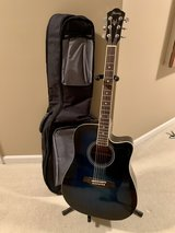 IBENEZ Acoustic Guitar with case and stand in Naperville, Illinois