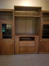 Large wall unit Solid Oak in Naperville, Illinois