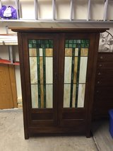 Unique Armoire - Stained glass doors in Naperville, Illinois