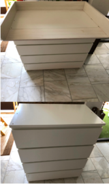 Dresser + Changing Table Extension in Wiesbaden, GE