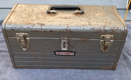 Lot 120 Craftsman Extra Large Toolbox w/pullout tray in Bolingbrook, Illinois