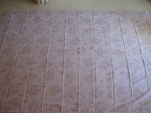 Simply Shabby Chic Cotton- Lilac Blossom Print-2 Panels-NEW in Aurora, Illinois