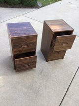 """2 Drawer Filing Cabinets / Pair = 26"""" Tall x 14 1/2"""" Wide x 16"""" Deep Filing Cabinets (Pair) in Naperville, Illinois"""