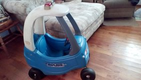 Little Tikes Ride on Cozy Coupe Police Car in Orland Park, Illinois