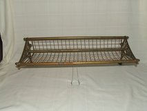 Antique New South Wales Railroad Train Luggage Rack in Bolingbrook, Illinois