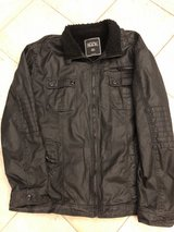 Buckle Brand Leather Jacket in Naperville, Illinois