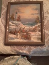 Original Oil Seascape in Byron, Georgia