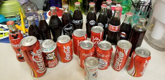Coca Cola Bottles and Cans in Fort Lewis, Washington