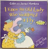 I Know an Old Lady Who Swallowed a Fly Lift the Flaps book in Okinawa, Japan