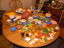 186 Pieces of Fisher-Price Play Food and Kitchen Items in Westmont, Illinois