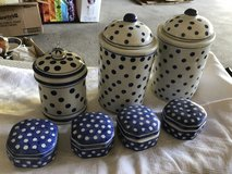 Polka dot Canisters in Ramstein, Germany