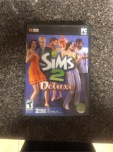 The Sims 2 Deluxe with bonus CD PC dvd in Camp Lejeune, North Carolina