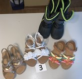 Lot 03 Shoes Girls size 10 in Naperville, Illinois
