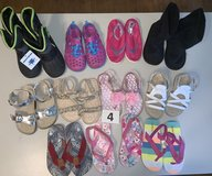 Lot 04 Shoes Girls size 9 in Naperville, Illinois