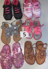 Lot 05 Shoes Girls size 8 in Naperville, Illinois
