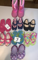 Lot 07 Shoes Girls size 6 in Naperville, Illinois