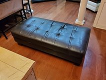 Large Leather Ottoman! in Macon, Georgia