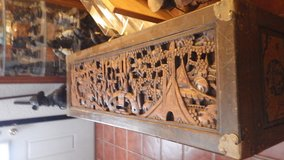 Wood Carved Chest in 29 Palms, California