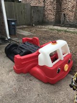 Toddler Fire Engine Bed w/ Mattress Step 2 in Kingwood, Texas