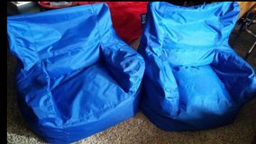 Blue / Extra Large Bean Bag Chair Set in Clarksville, Tennessee