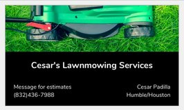 Lawn Mowing Services in Kingwood, Texas