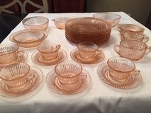 Queen Mary Pattern Anchor Hocking Depression Glass - Lot in Kingwood, Texas
