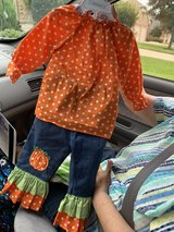 pumpkin outfit size 18 months in Kingwood, Texas