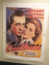 Casablanca movie poster in Joliet, Illinois