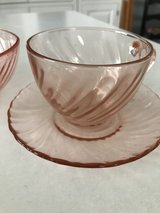 17 piece depression glass set in Plainfield, Illinois