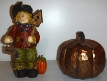 Scarecrow & Pumpkin Fall Home Decor in Westmont, Illinois