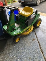 John deere riding mower and attachments in Chicago, Illinois