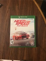 xBox One Need For Speed Payback in Fort Leonard Wood, Missouri