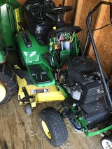 2 complete John Deere LX277 tractors 1 runs and in good condition,other needs starter dealer sol... in Yorkville, Illinois